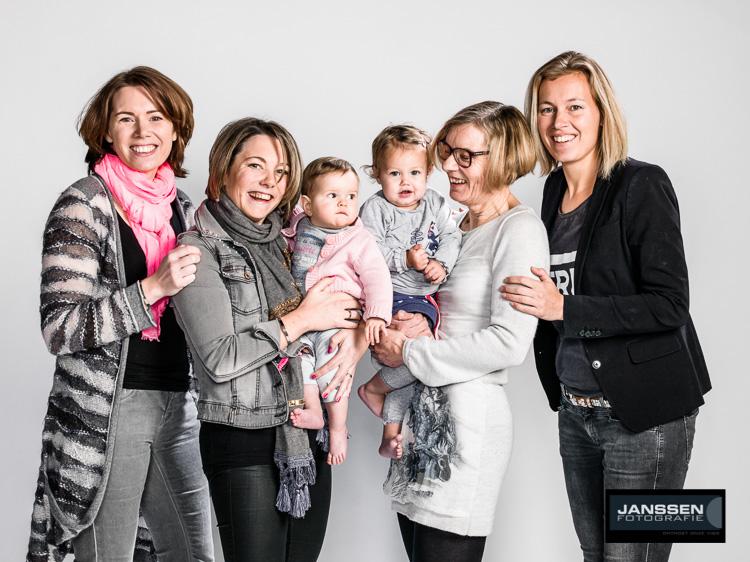 Groepsfoto shoot vrouwen