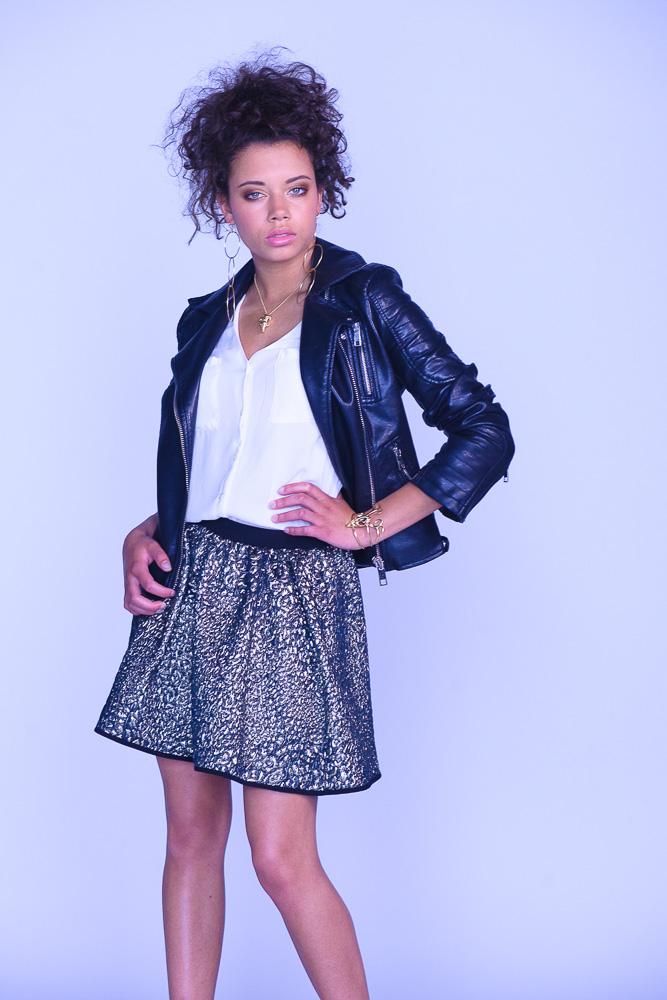 chantal is de winnares van de Winter modellenwedstrijd