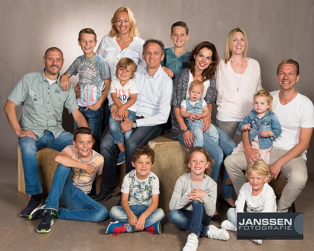 Geheime missie de familiefoto