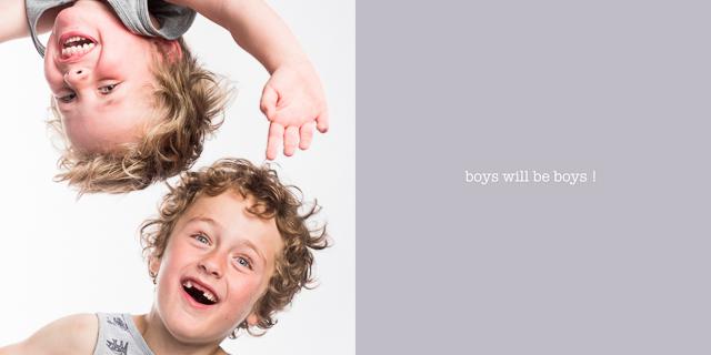 Jongensboek van twee stoere mannen