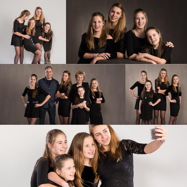 een nieuwe familiefoto