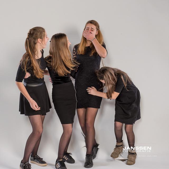 gezellige familie fotoshoot