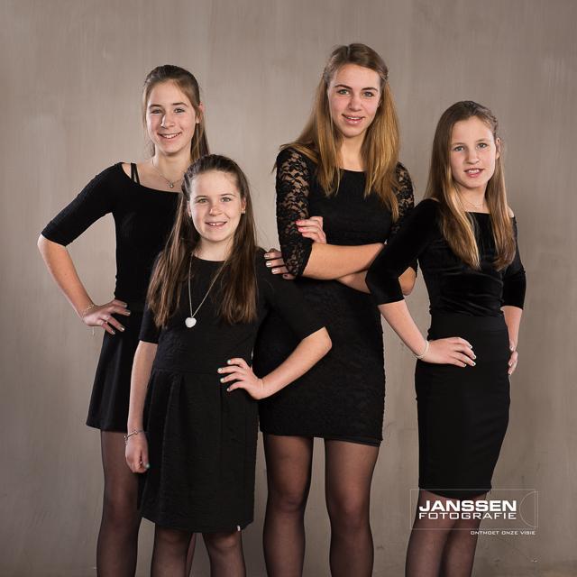 een mooie familiefoto