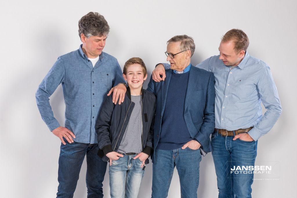 familie fotoshoot met veel variatie