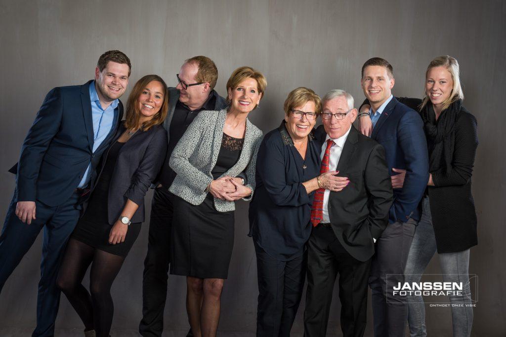 Spontane familiefoto's
