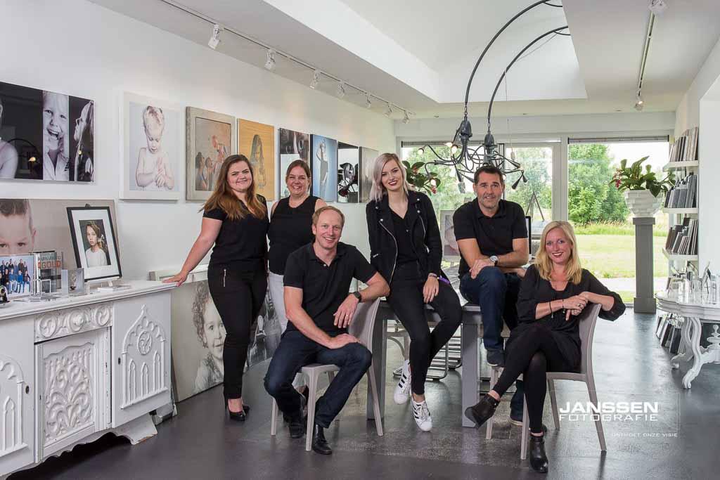 Teamfoto Janssen-Fotografie