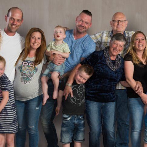 Familie fun fotoshoot met familie fotoboek