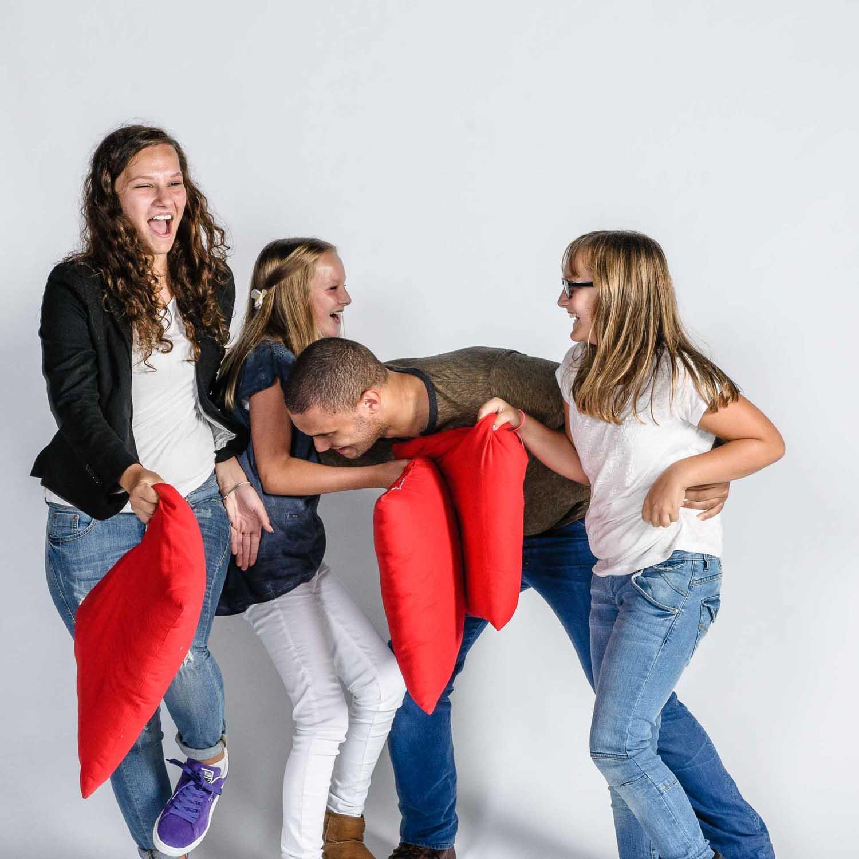 Fun fotoshoot groepen