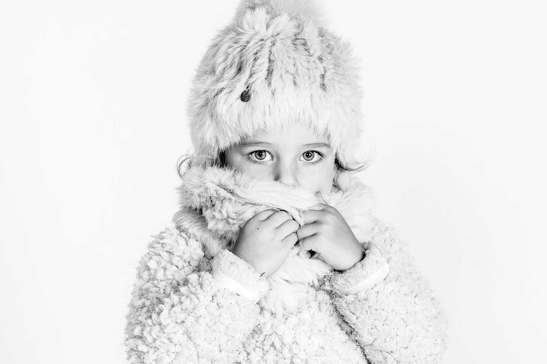 kinderfotografie zwart wit