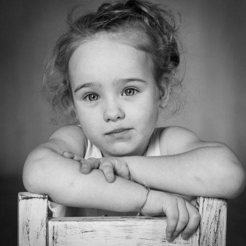 kinder portret