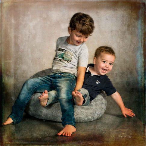 kinderfotografie twee broers