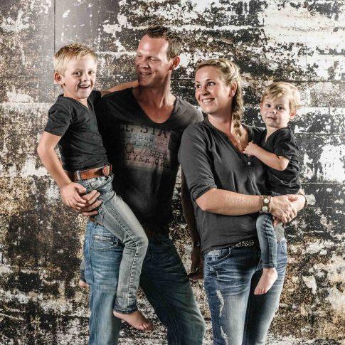 stoere gezinsfotoshoot