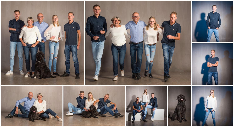 Een family fun fotoshoot met de hond