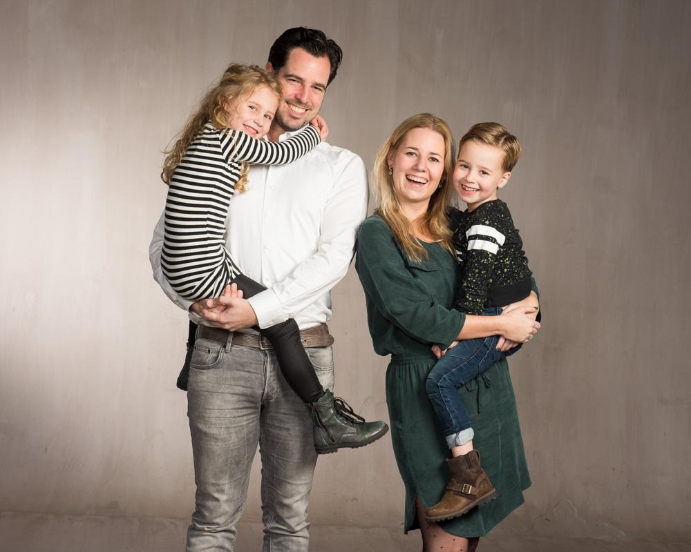 Veel variatie tijdens de familie fotoshoot