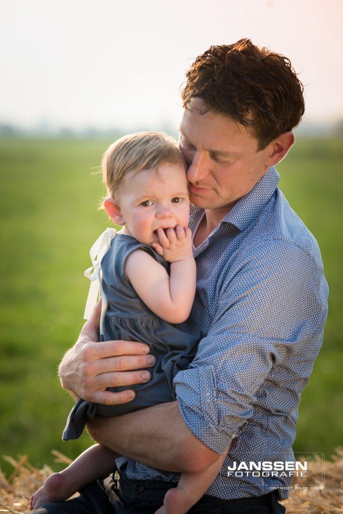 papa en dochter op lokatie fotografie