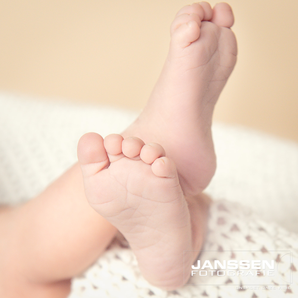 Newborn fotografie in Oss