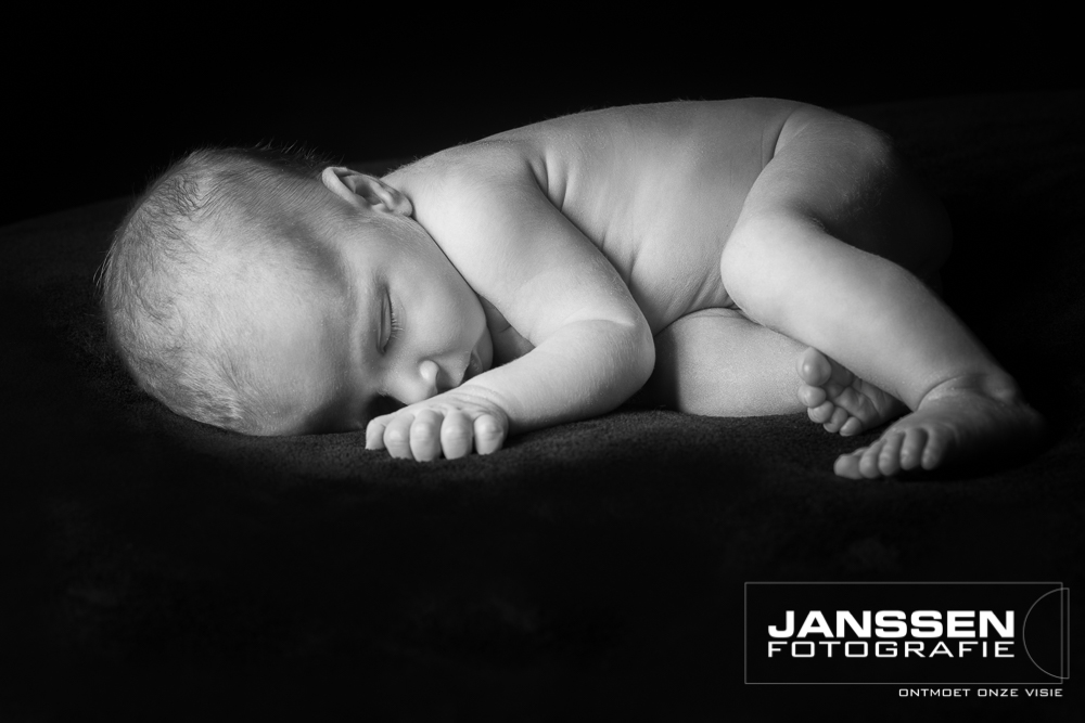 Newborn fotografie in Oss