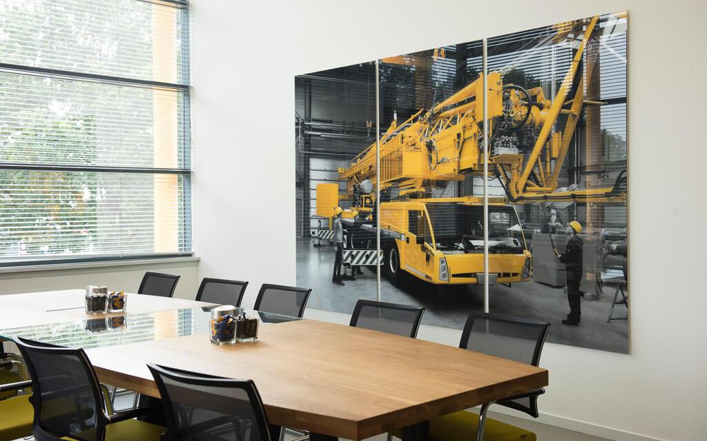 bedrijfsfotografie als wall art