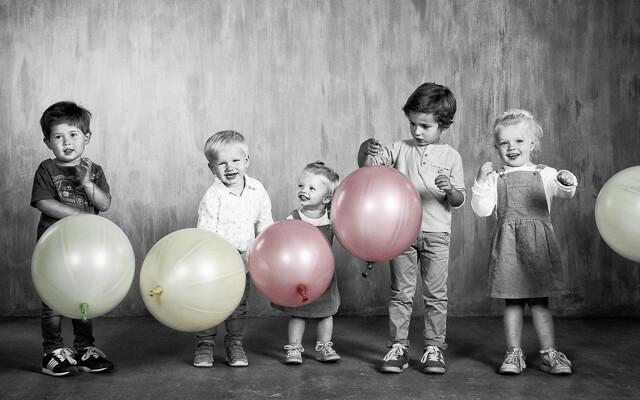 kleinkinderen foto